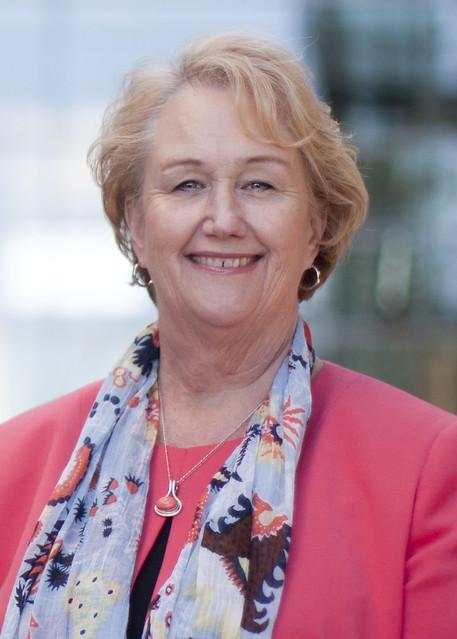 Mesa President Pamela T. Luster.