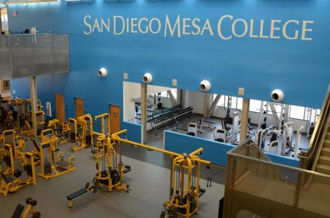 The Exercise Science Center. Without athletes on campus to use it, the center remains mostly empty.