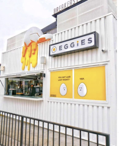 Eggies store front in Pacific Beach