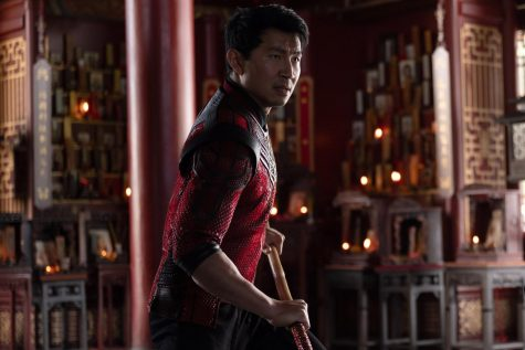 Simu Liu stars in the newest MCU film, Shang-Chi and the Legend of the Ten Rings, in theaters beginning September 3.