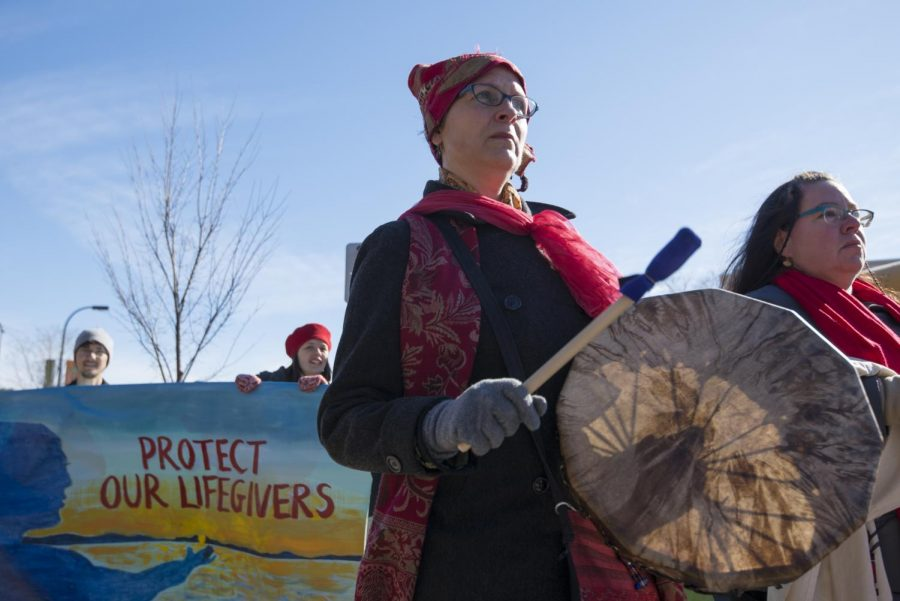 2017 Missing and murdered Indigenous womens march in Minnesota.