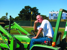 Keeper of the grounds: Unsung hero tends athletic fields