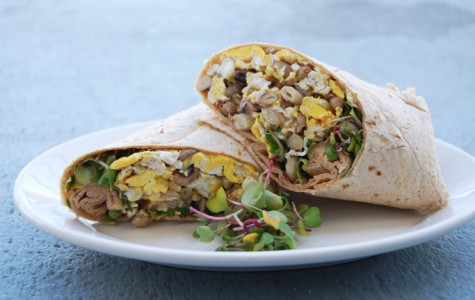 Locally Sourced Meals: Breakfast burrito jump starts morning energy