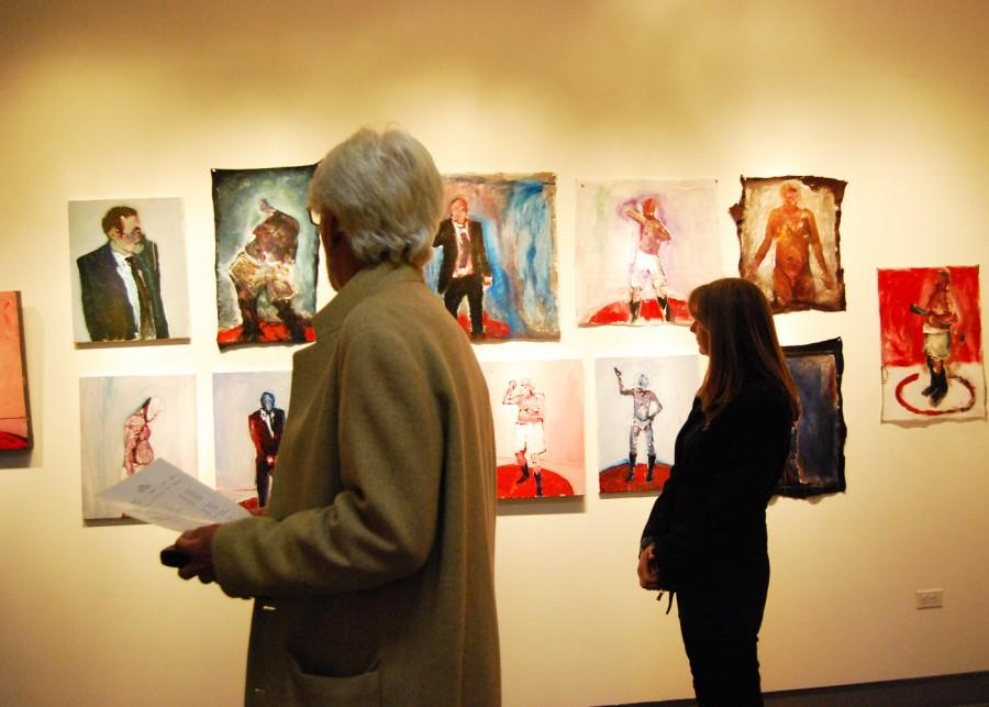 Local+art+patrons+browse+the+featured+works+of+the+Dynamic+Gestures+exhibit+at+the+Mesa+Art+Gallery.