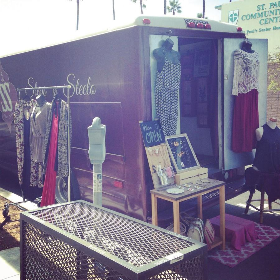 Steps To Steelo takes fashion to the streets in a mobile boutique