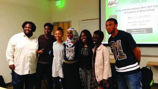 Black students share experiences at Mesa