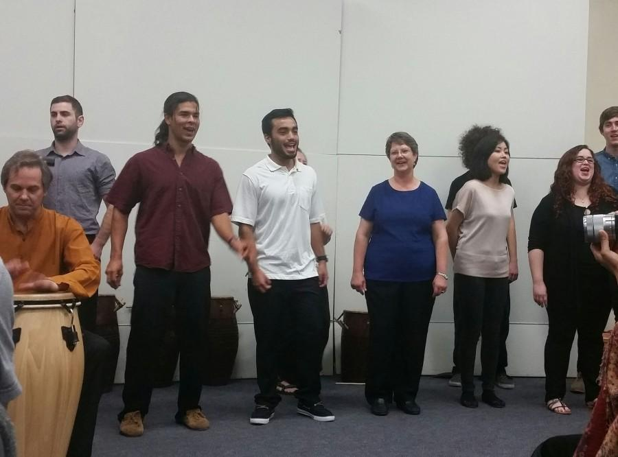 Mesa College's World Music Ensemble celebrate with African music