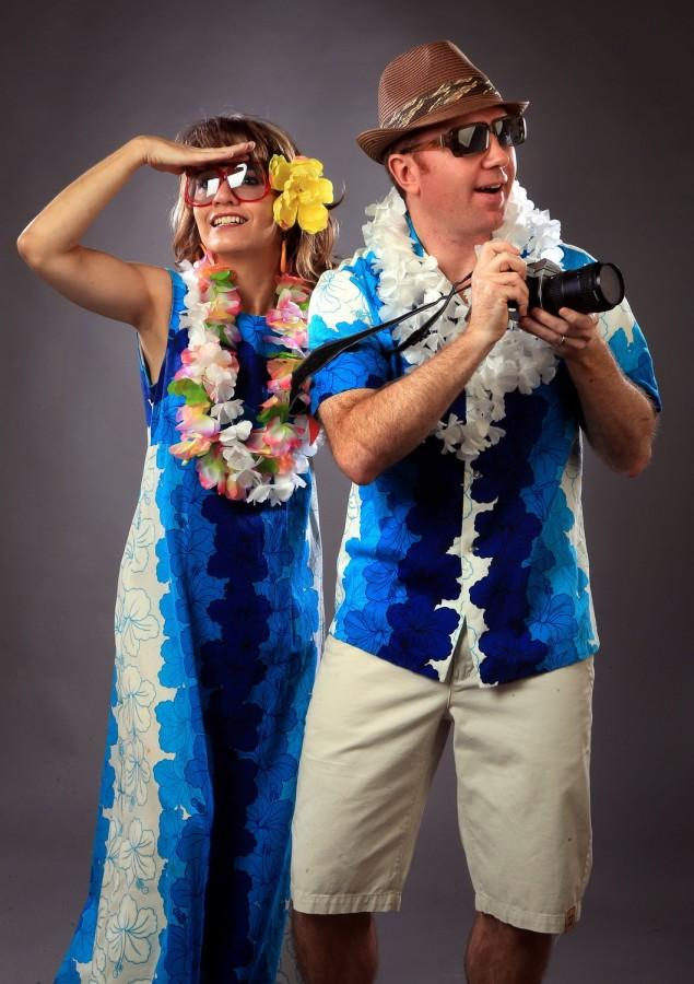 What better way to hang loose and have fun on Halloween. Aloha! (Christian Gooden/St. Louis Post-Dispatch/TNS)