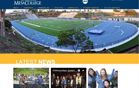 Mesa College website unveils new look