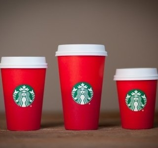 Starbucks cup design leaves sour taste in some customers' mouths