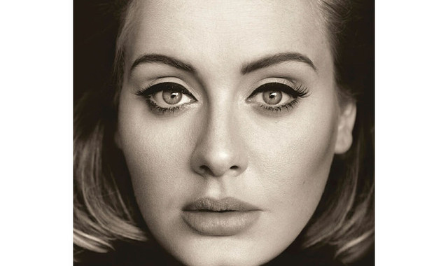Adele says 'hello' to another No. 1 album with '25'