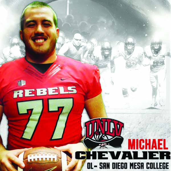 Michael Chevalier surrendered 0 sacks his sophomore season.