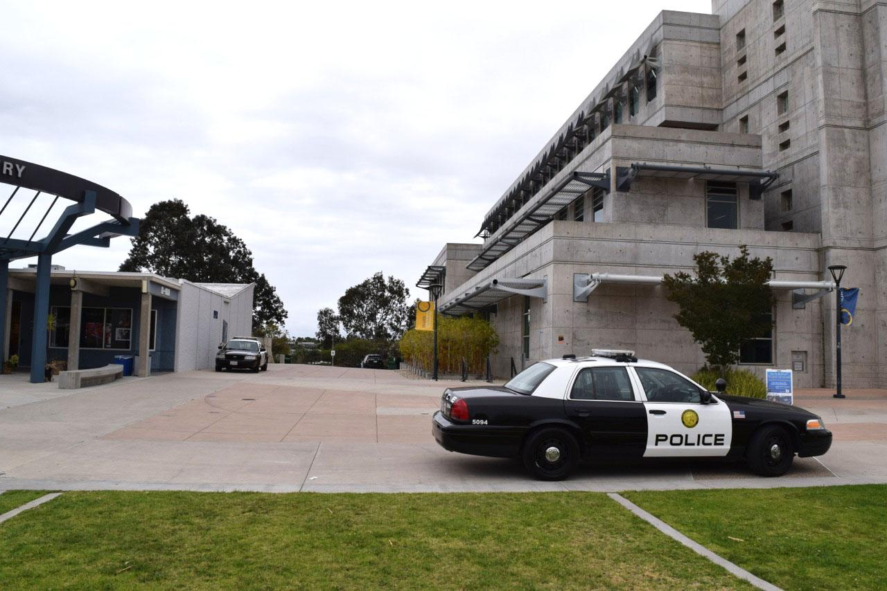 Increased police presence can be seen on Mesa campus following tuesday's reported sexual assault.