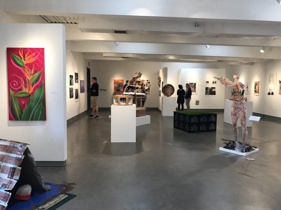 Student art Exhibit, Mesa College Art Gallery - Photo Credit Bijan Izadi