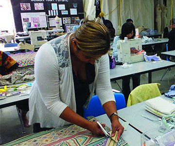 Fashion Club sews for children in Africa