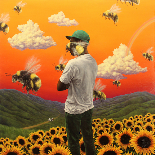 The album cover of Tyler, The Creator's newest album
