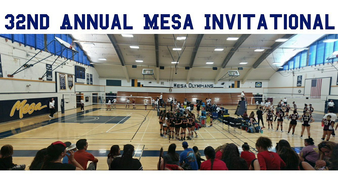 Olympians prepare for the 32nd Annual Mesa Invitational. Photo Credit: Jacquelle Smith