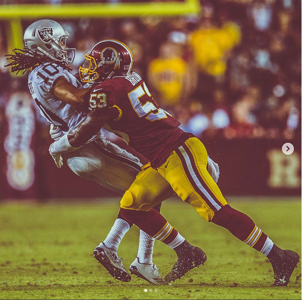 Raiders vs Redskins in AFC NFC show down