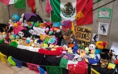 Chicano Studies creates Day of the Dead altar in LRC