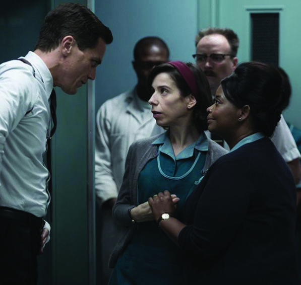 Michael Shannon, Sally Hawkins, and Octavia Spencer star in the romance