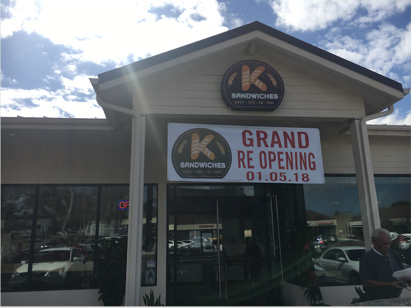 K Sandwiches back and better than ever after fire