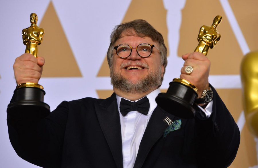 Director Guillermo Del Toro at the 90th Academy Awards.  Photo provided by MCT Campus.