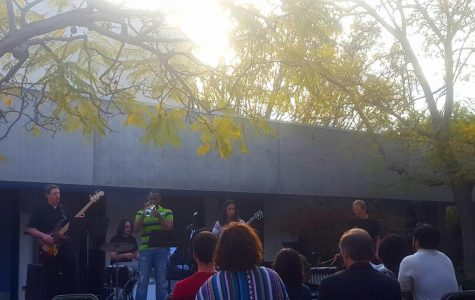 """Jazz in the Courtyard"" gives audience an enjoyable performance"