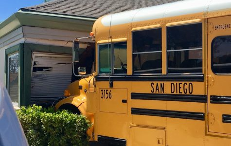 School Bus crashes into Children's Center near Mesa College