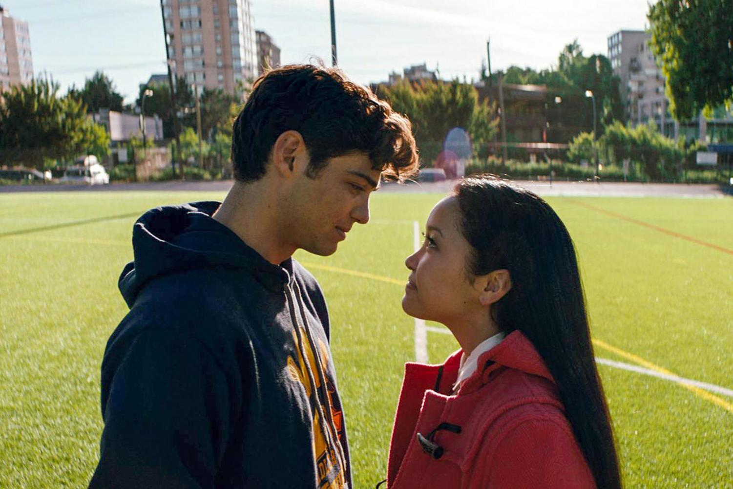 Lara Jean (Condor) and Peter Kavinsky's (Centineo) on-screen chemistry is undeniable.