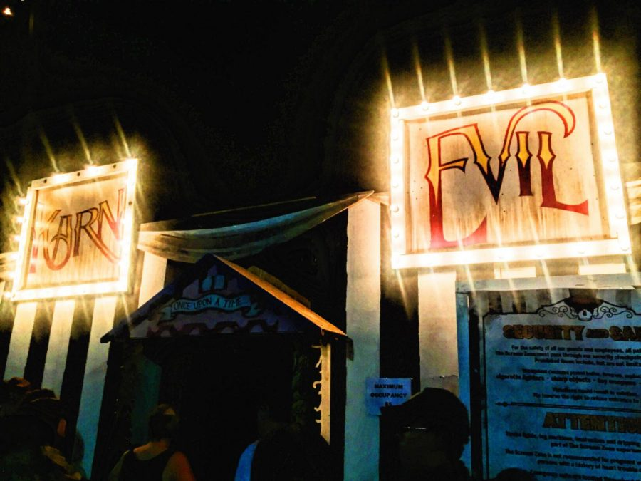 'The Scream Zone' was full of scares, and long lines
