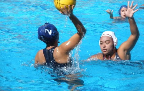 Lady Olympians Water Polo Wins by Landslide