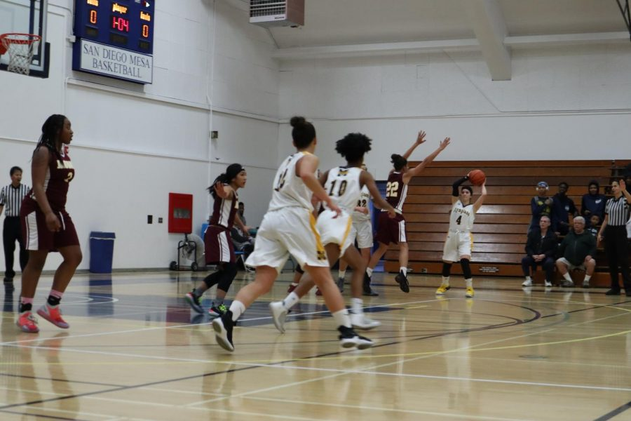The Olympians pushed hard to break the Jaguars' defense, but ultimately couldn't outpace Southwestern's vigorous pursuit of the win.