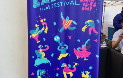 The poster at the San Diego Latino Film Festival was full of life and color