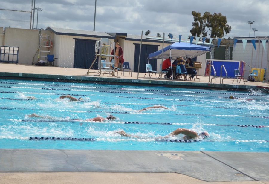 Mesa+Swim+Team+Defeated+by+Mount+San+Antonio+in+Annual+Meet