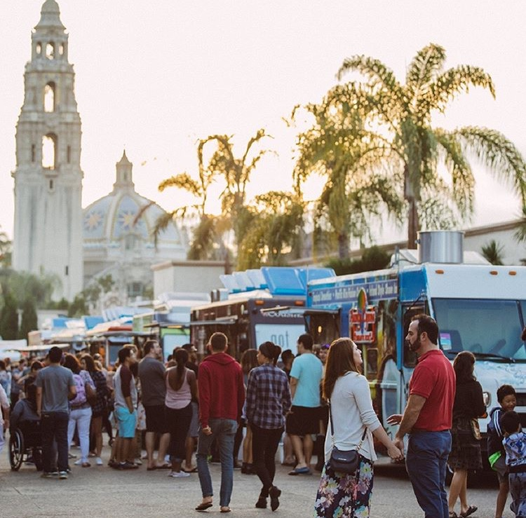 People+from+the+San+Diego+community+enjoy+food+from+the+many+food+trucks+at+Balboa+Park%0APhoto+Credits%3A+Instagram+%40balboapark+