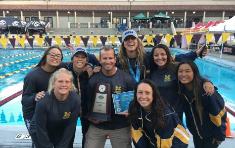Mesa Women's Swim Team's Season Ends with a Series of Victories
