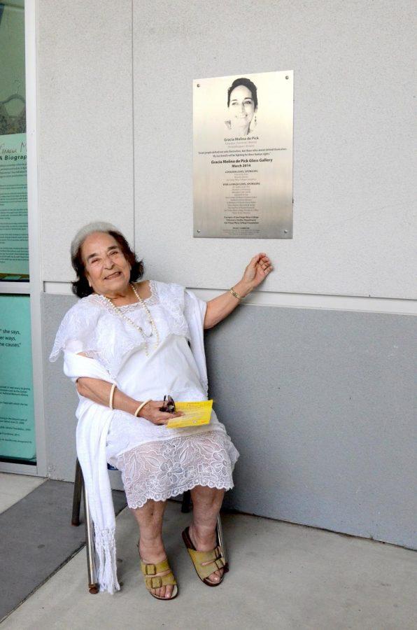 Former Chicano studies professor and activist Gracia Molina de Pick died in August.
