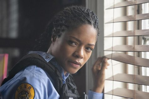 "Naomie Harris takes on a corrupt precinct in ""Black and Blue."""