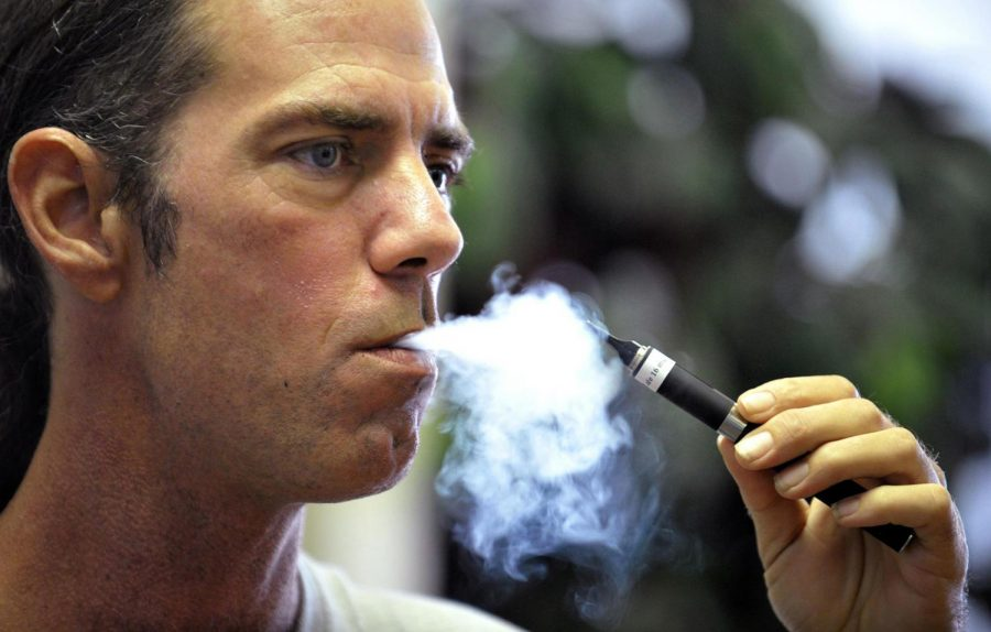 Vaping-related deaths surge in the U.S.   Photo credit: MCT Campus