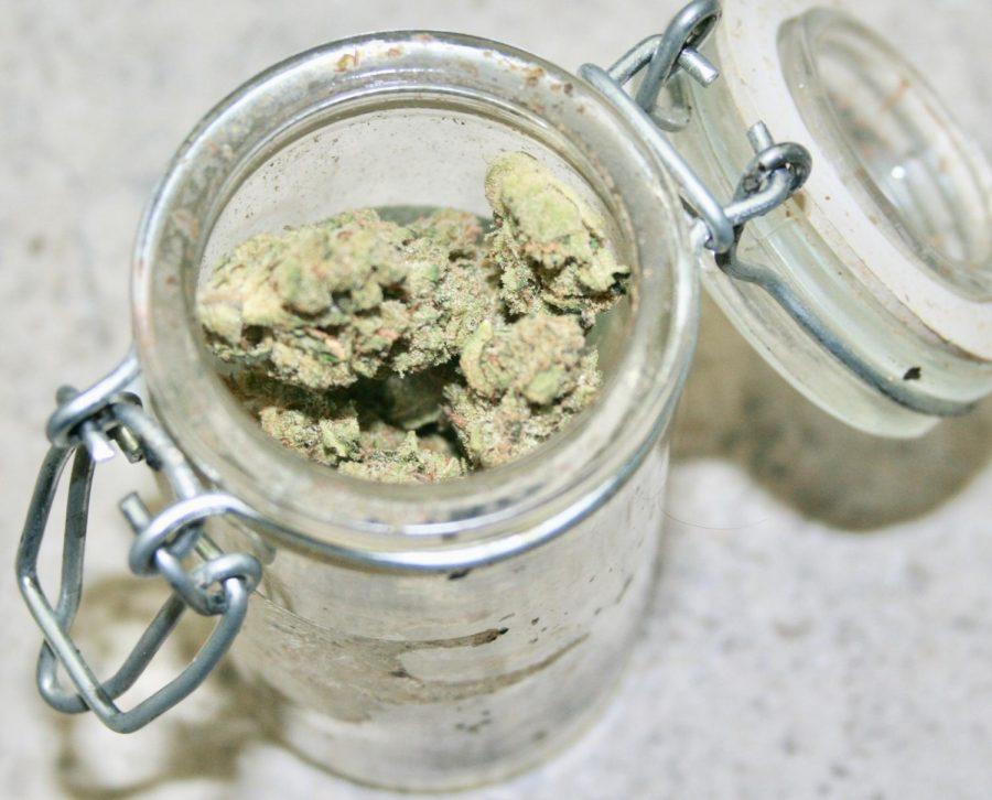 medical marijuana stash