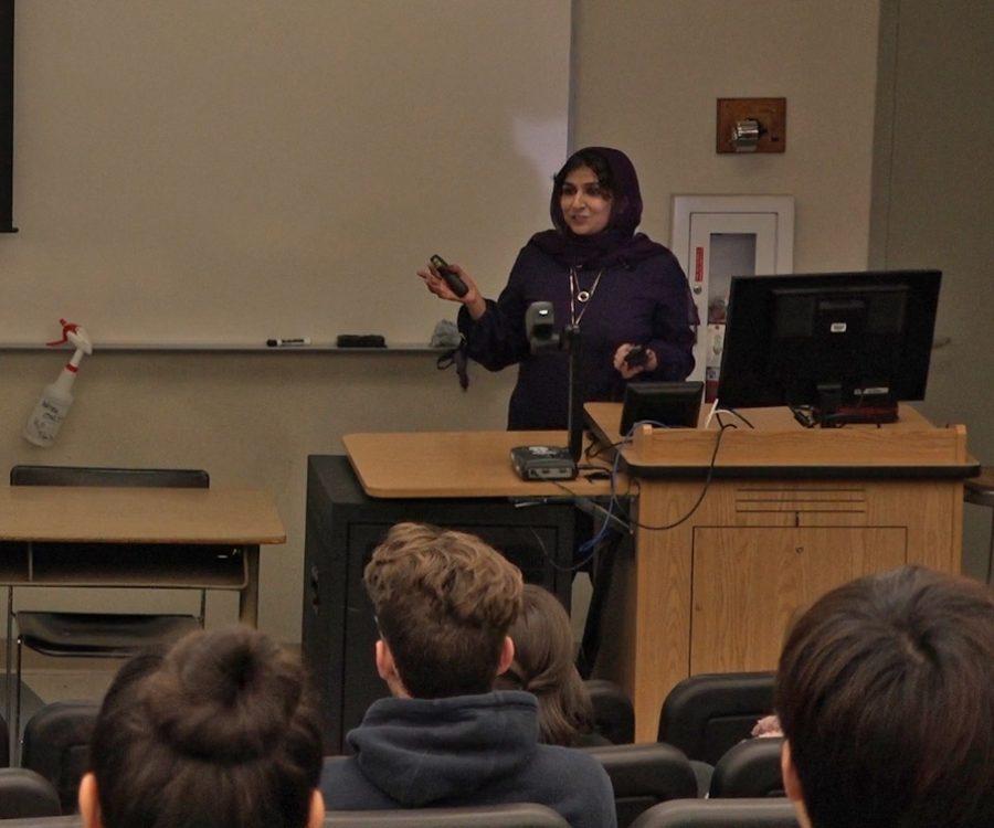 Dr. Saima Anjum speaks on mental health.
