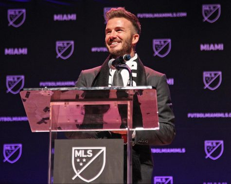 David Beckham is the newest MLS club owner after founding Inter Miami CF. Photo Credit: MCT Campus