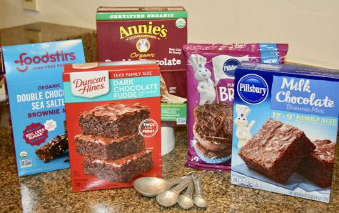 Five brownie mixes rated.