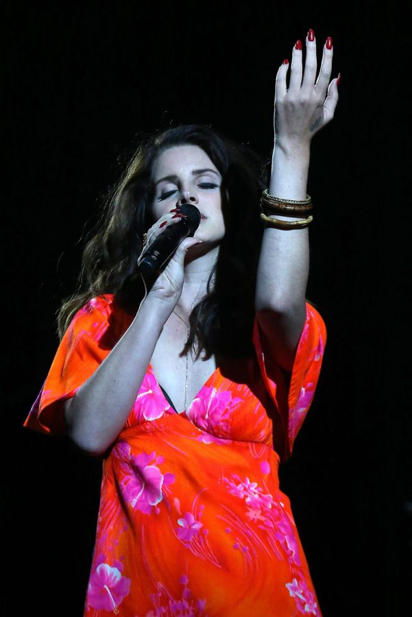 Lana Del Rey at Coachella Music Festival in 2014.