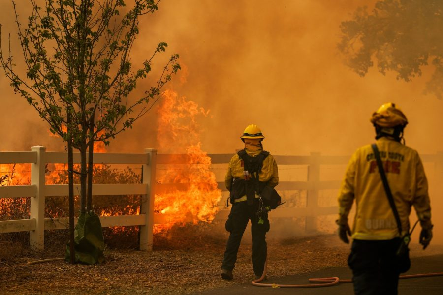 Firefighters+have+been+working+hard+to+contain+the+fires+in+Northern+California.+