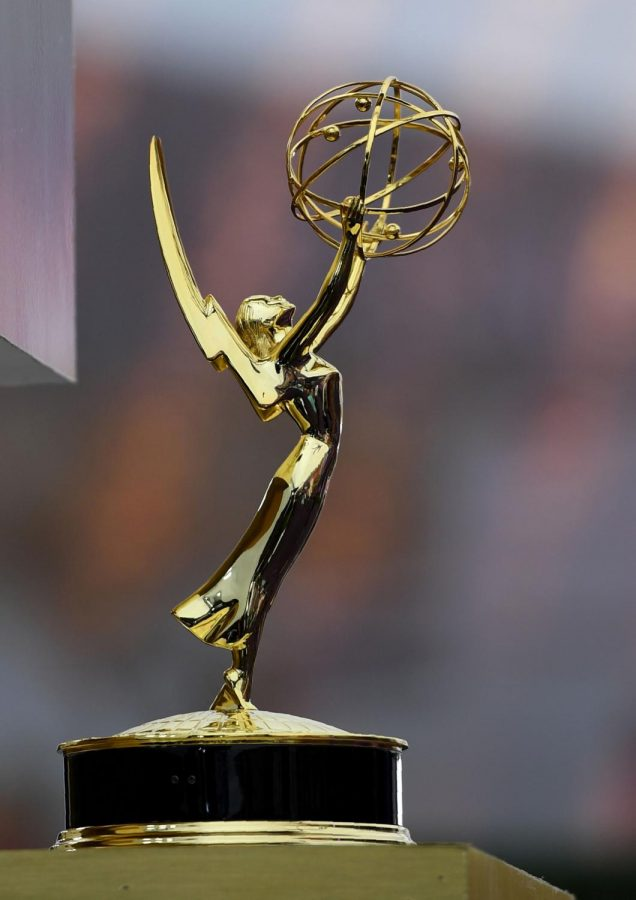 Up close with an Emmy award