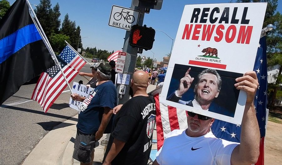 Supporters of the Newsom recall have collected nearly 2 million signatures.