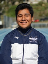 Juan Leyva, Junior Thrower for Mesa