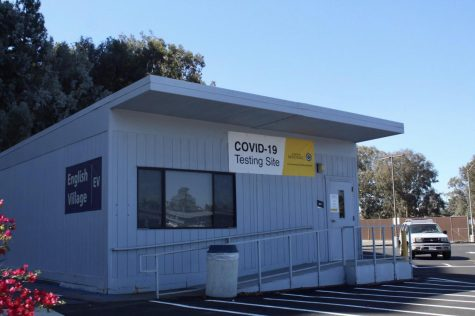 This building has been allocated on Mesas campus for COVID-19 testing.