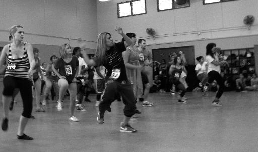 Dance students prepare for (in)Fusion